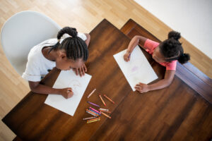 Children Coloruing